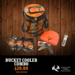 Bucket Cooler - Combo - Longleaf Camo