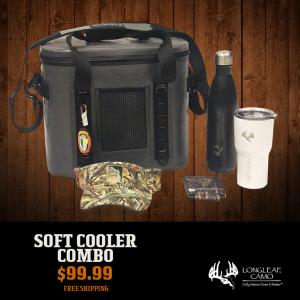Soft Cooler - Combo - Longleaf Camo