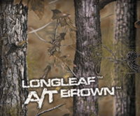 Longleaf Camo A/T Brown Pattern