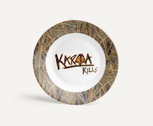 Longleaf Kitchen Karma Logo Plate