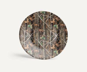 Longleaf Camo Kitchen TimberBreak Plate